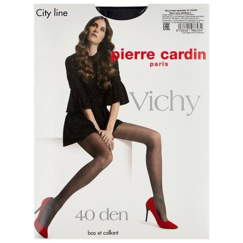 Колготки Pierre Cardin Vichy, City Line 40 den, размер II-S, nero (черный)
