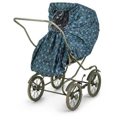 Купить Elodie Details дождевик Everest Feathers изумрудный, Аксессуары для колясок и автокресел