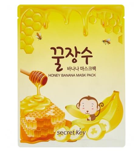 Secret Key Тканевая маска с экстрактом банана и меда