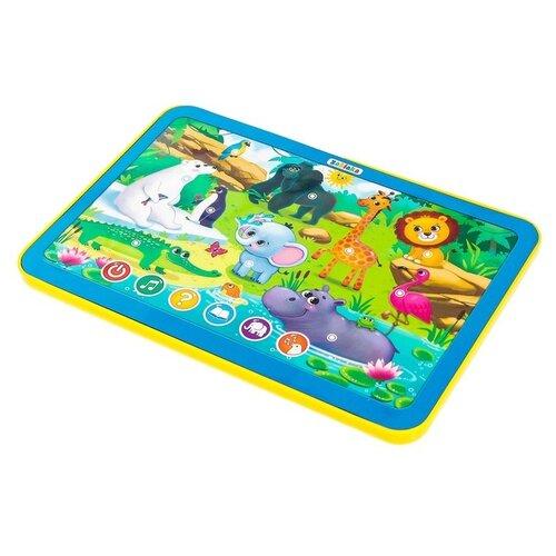 Купить Планшет Zabiaka Джунгли зовут! (3550094) желтый/голубой, Детские компьютеры