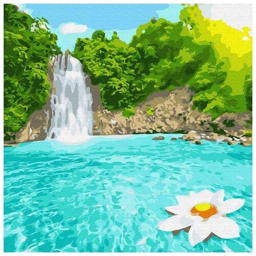 Купить Картина по номерам Райский уголок , 30x30 см, Molly, Картины по номерам и контурам