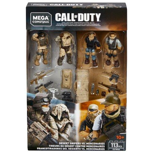 Mega Construx Call of Duty GCP06 Снайперы Пустыни против Наемников