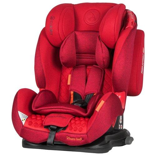 Автокресло группа 1/2/3 (9-36 кг) Coletto Vivaro Isofix, red группа 1 2 3 от 9 до 36 кг coletto vivaro