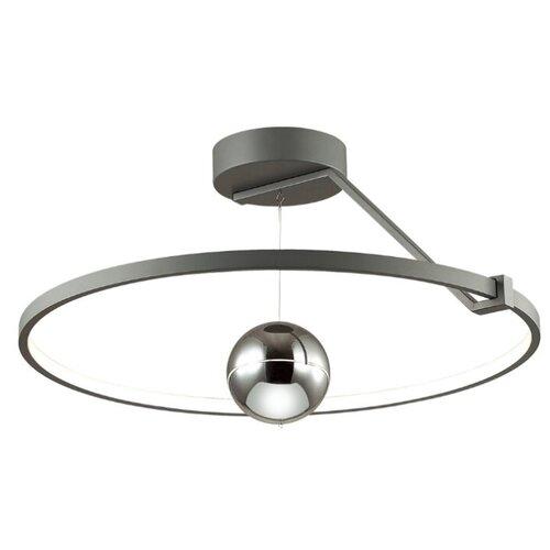 Светильник светодиодный Odeon light Lond 4032/40CL, LED, 40 Вт светильник светодиодный odeon light piano ip20 led 46вт черный разноцветный
