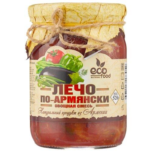 Лечо по-армянски Ecofood стеклянная банка 520 г цена 2017