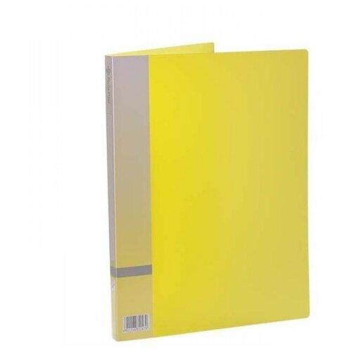 Panta Plast Папка с прижимным механизмом, А4 желтый