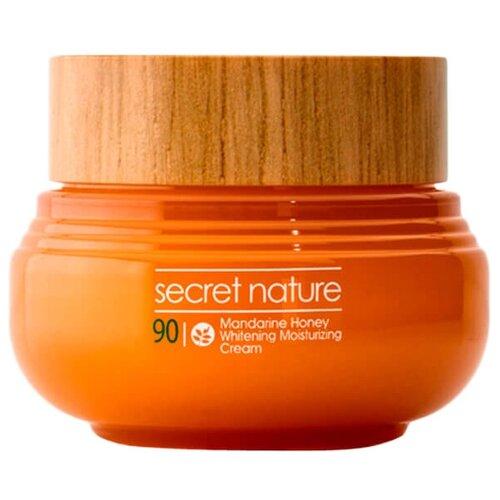 Купить Secret Nature Mandarine Honey Whitening Moisturizing Cream Придающий сияние крем для лица с мандарином и мёдом, 60 мл
