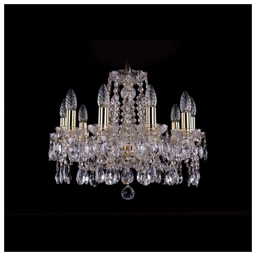 Фото - Люстра Bohemia Ivele Crystal 1413 1413/10/165/G, E14, 400 Вт люстра bohemia ivele crystal 1413 18 400 g e14 720 вт