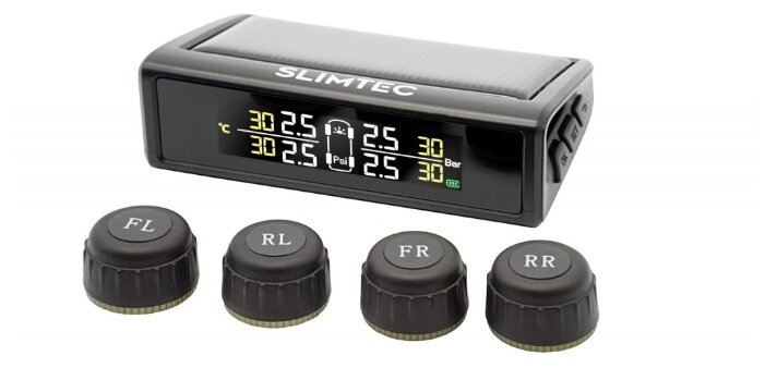 Датчик внешний электронный Slimtec TPMS X5 универсальный
