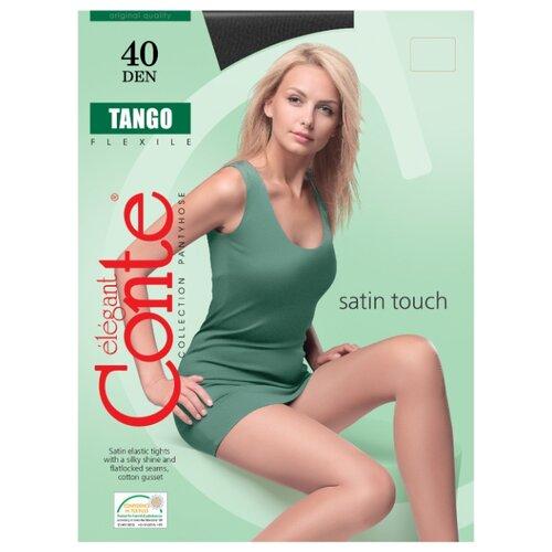 Фото - Колготки Conte Elegant Tango 40 den, размер 2, nero (черный) колготки conte elegant active 40 den размер 2 nero черный
