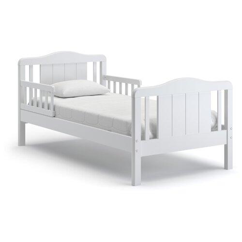 Кровать детская Nuovita Volo, размер (ДхШ): 167.5х87.5 см, спальное место (ДхШ): 160х80 см, каркас: массив дерева, цвет: bianco