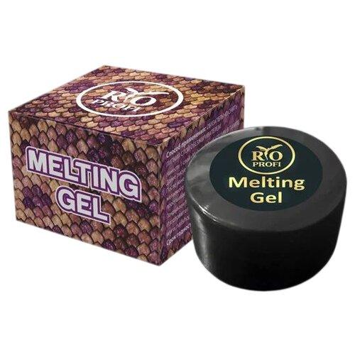 Купить Краска гелевая Rio Profi Melting Gel с эффектом змеиной кожи 10 синий