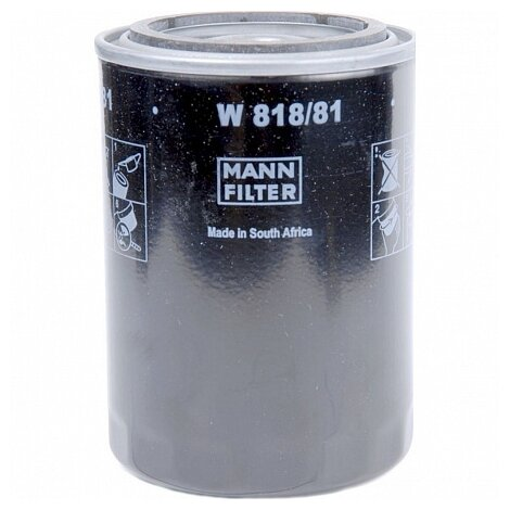 Масляный фильтр MANNFILTER W818/81