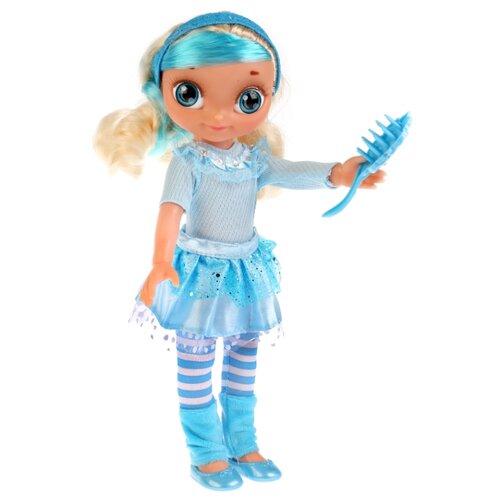 Интерактивная кукла Карапуз Сказочный патруль Снежка с дополнительным набором одежды, 33 см, SP0117-S-RU-OTF