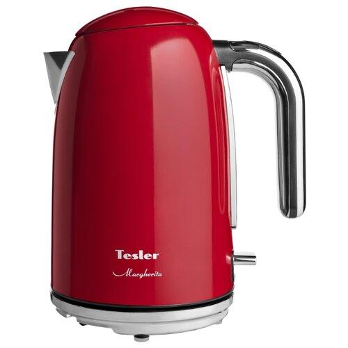 Чайник Tesler KT-1755, красный tesler trobot 090