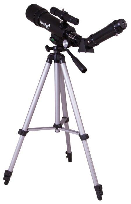 Купить Телескоп LEVENHUK Skyline Travel Sun 50 черный по низкой цене с доставкой из Яндекс.Маркета