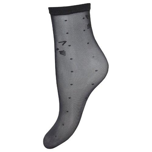 Капроновые носки Trasparenze Siladen (c), размер Unica, nero B