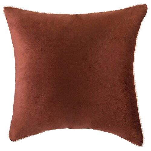 Подушка декоративная фьюжен, SANTALINO 45*45 см,коричневый,100%пэ (850-827-46)