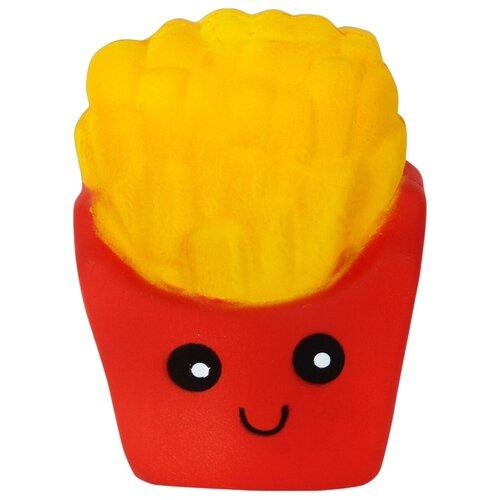 Игрушка-мялка 1 TOY Картофель фри Т12323 красно-желтый