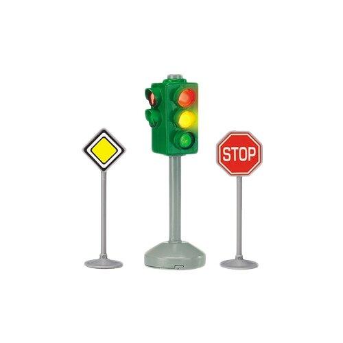 Фото - Dickie Toys City Light 3341000029, красный/желтый/серый/зеленый гидроцикл dickie toys пожарный сэм джуно с фигуркой и аксессуарами 9251662 красный желтый