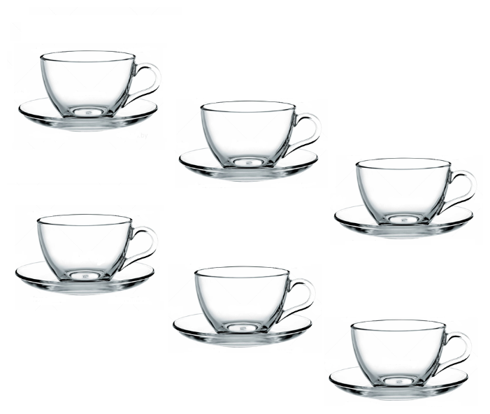 Чайный сервиз Pasabahce Basic 97948, 6 персон