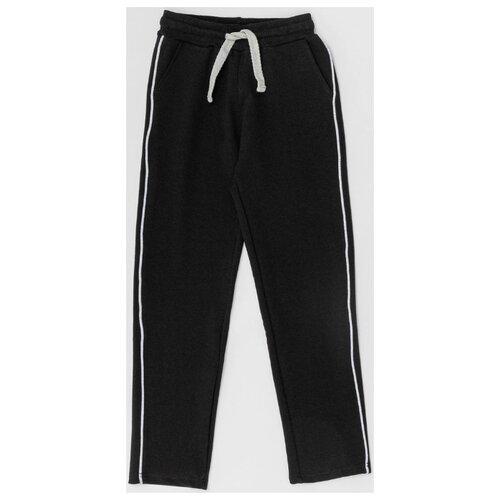 Купить Спортивные брюки Button Blue размер 140, черный, Брюки