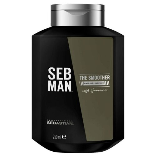 Купить SEBASTIAN Professional кондиционер для волос Seb Man The Smoother Rinse-Out Conditioner, 250 мл
