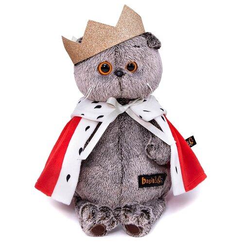 Купить Мягкая игрушка Basik&Co Кот Басик Царь 22 см, Мягкие игрушки
