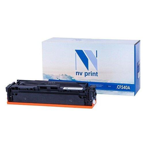 Фото - Картридж NV Print CF540A Black для HP, совместимый картридж nv print cf244a для hp совместимый