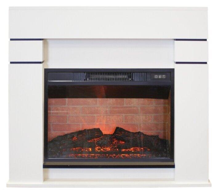Купить Электрический камин RealFlame Alta 24 + Irvine 24 белый по низкой цене с доставкой из Яндекс.Маркета (бывший Беру)