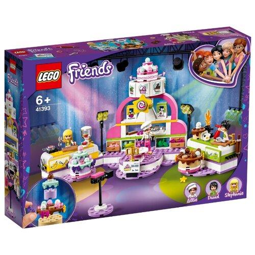 Конструктор LEGO Friends 41393 Соревнование кондитеров конструктор friends lego lego mp002xg00jt9