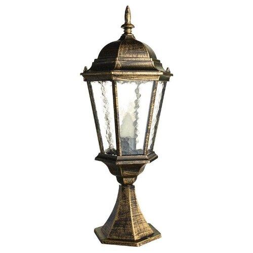 Фото - Arte Lamp Уличный светильник Genova A1204FN-1BN arte lamp уличный светильник berlin a1014fn 1bn