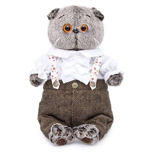 Купить Мягкая игрушка Basik&Co Кот Басик романтик 19 см, Мягкие игрушки
