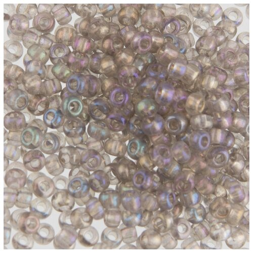 Купить Бисер круглый Gamma 5, 10/0, 2, 3 мм, 50 г, 1-й сорт, Е618, серый, Фурнитура для украшений