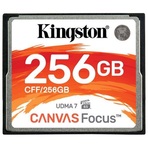 Карта памяти Kingston CFF/256GB, черный