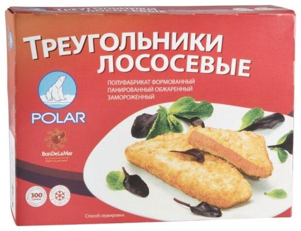 Polar Треугольники лососевые замороженные обжаренные в панировке коробка 300 г