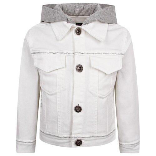 Куртка Lapin House размер 74, белый