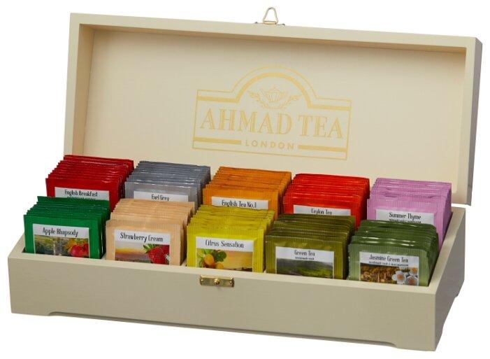 Купить Чай Ahmad tea Contemporary ассорти подарочный набор в пакетиках, 100 шт. по низкой цене с доставкой из Яндекс.Маркета (бывший Беру) - Как выжить этой зимой