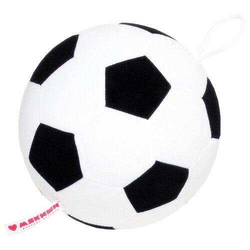 Погремушка Мякиши Мяч футбольный 439/440/445 белый/черный погремушка мякиши зайка банни 604 белый розовый