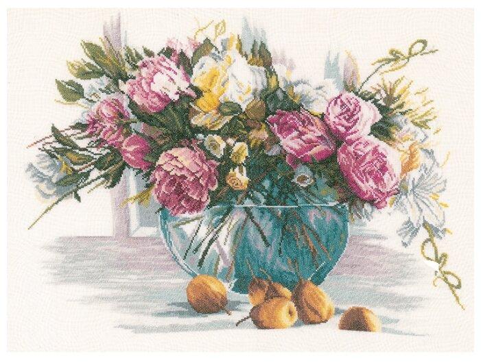 Lanarte Набор для вышивания Цветы 53 x 38 см (0162299-PN)