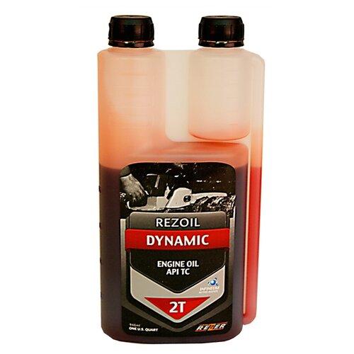 Фото - Масло для садовой техники Rezoil Dynаmic 2T с дозаторным отсеком 0.946 л масло для садовой техники калибр 2t 1 л