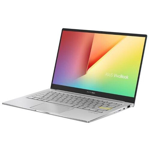 Ноутбук ASUS VivoBook S13 S333JA-EG014T (90NB0Q53-M01260), белый/серебристый ноутбук asus vivobook 17 x712fa au686 90nb0l61 m09630 серебристый