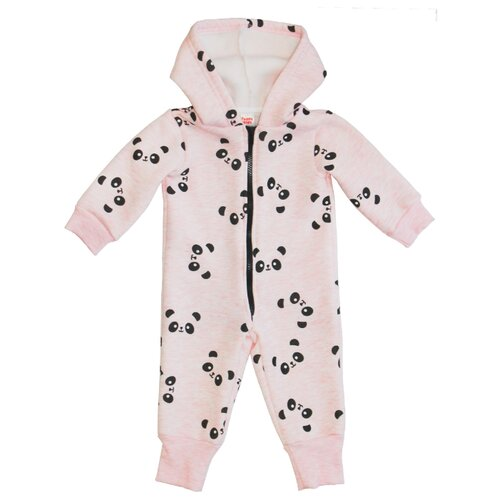 Фото - Комбинезон Веселый Малыш размер 74, панда розовый комбинезон веселый малыш размер 74 серый