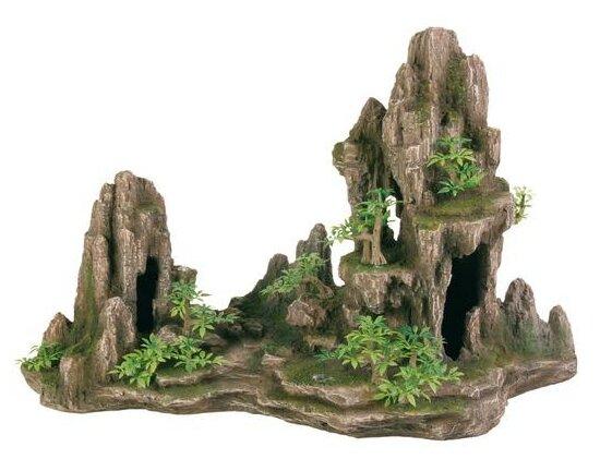 Грот TRIXIE Скалы с пещерой и растениями