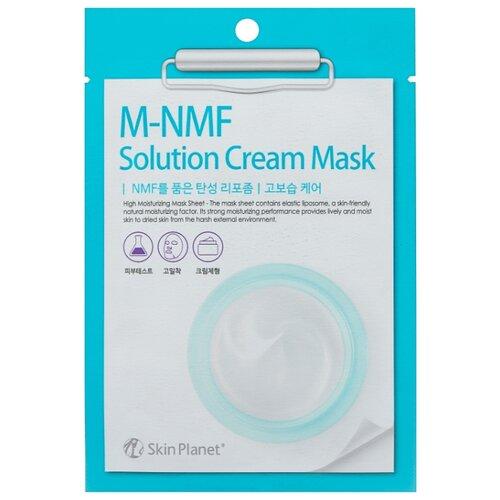 Skin Planet тканевая маска Skin Planet M-MNF Solution Cream Mask увлажняющая, 30 г mediheal zero solution skin chart teatre pair mask
