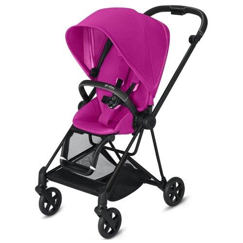 Прогулочная коляска Cybex Mios 2019/2020 fancy pink/matte black, цвет шасси: черный коляска трость cybex topaz princess pink 2016 516203015