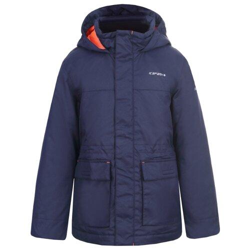 Куртка ICEPEAK размер 164, темно-синий пуховик женский icepeak цвет темно синий 253053532iv размер 46 52