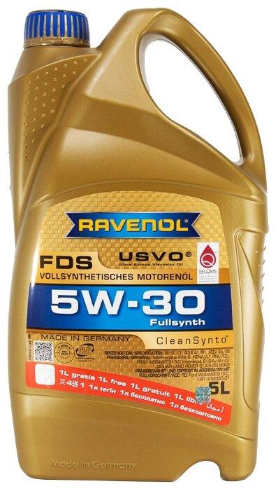 Моторное масло Ravenol FDS SAE 5W-30 5 л