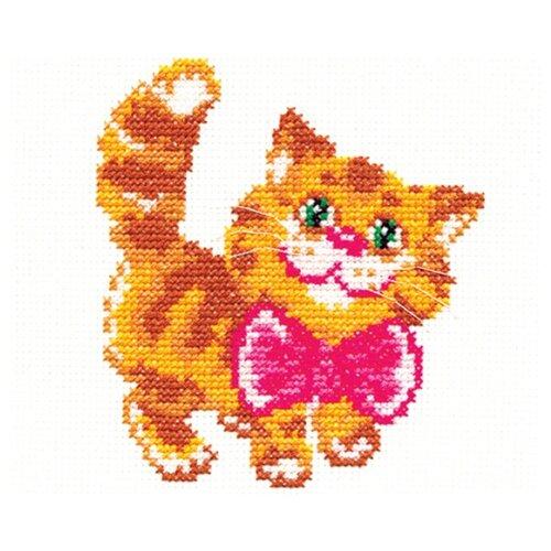 Чудесная Игла Набор для вышивания Котик 10 х 12 см (15-07)