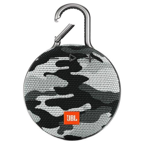 Портативная акустика JBL CLIP 3 camouflage портативная акустика jbl clip 2 черный jblclip2blk